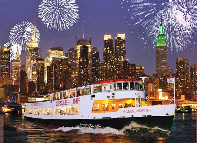 Circle Line Fourth of July Cruise, Hudson River, New York. (Photo: Circle Line)