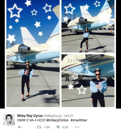 @MileyCyrus, Twitter