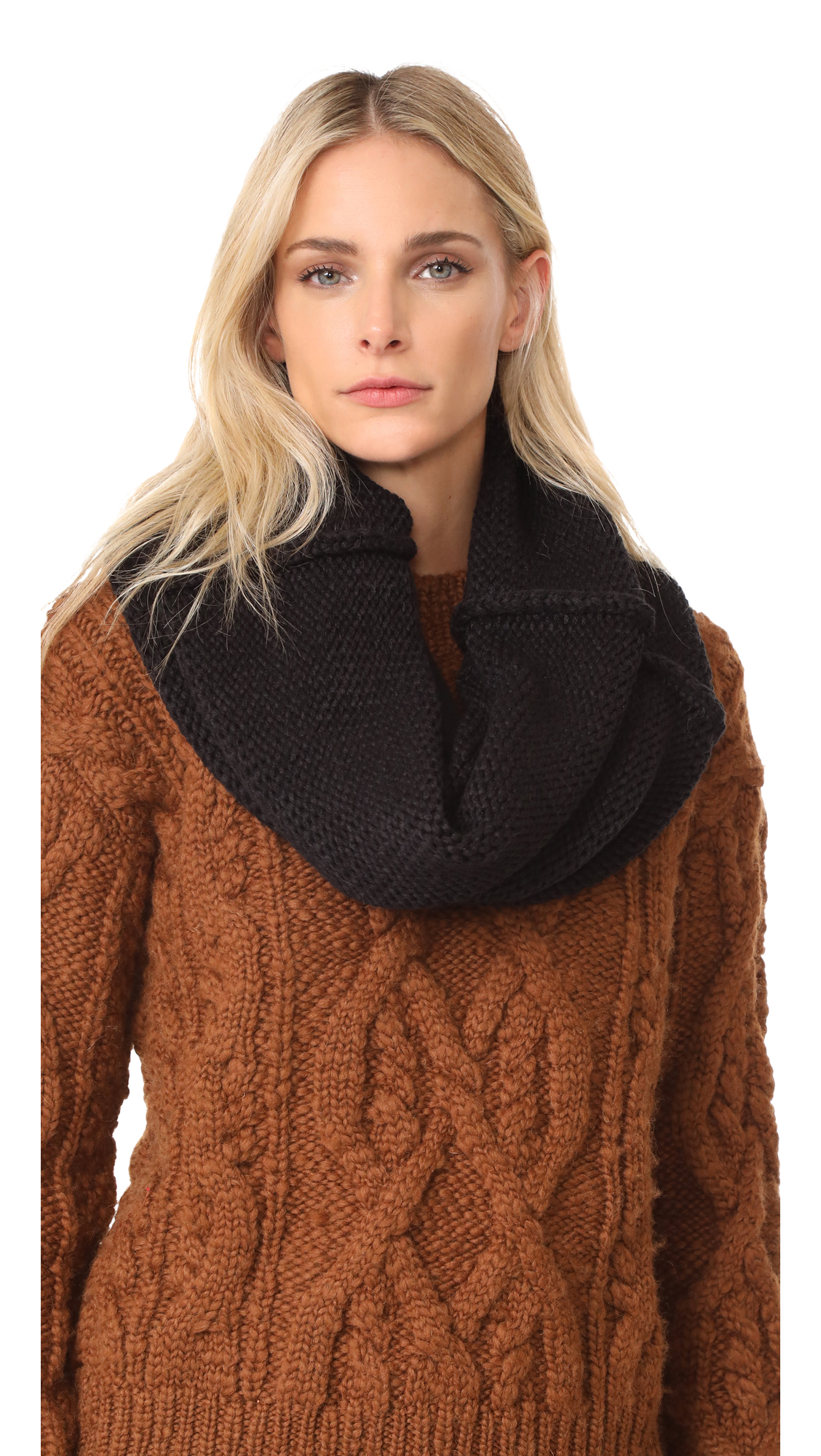 PLUSH Luxe Sherpa Neck Warmer at Shopbop.com