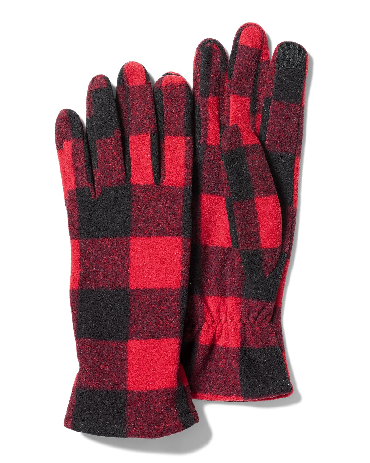 "Eddie Bauer ""Women's Quest Fleece Gloves"" *Holly Red"