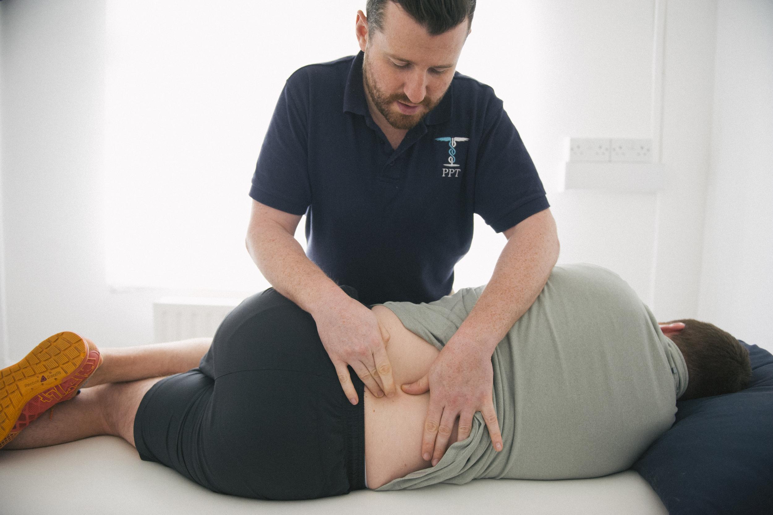 PPT physio treatment, Dublin
