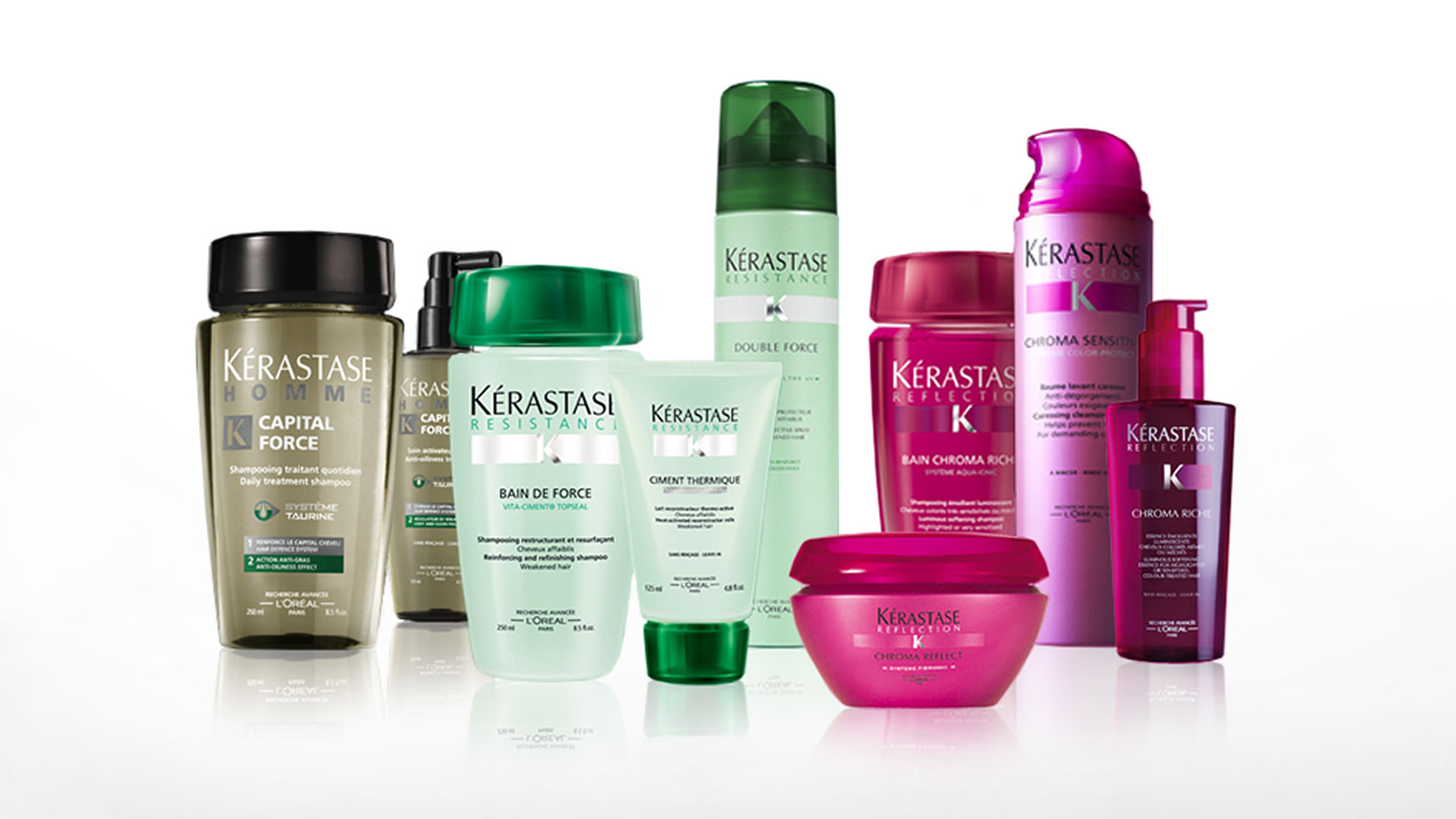 Kerastase believes that caring for the beauty of the scalp and hair is just as important as caring for the beauty of the skin. Renowned throughout the world, Kerastase has become the expert brand in luxury haircare experiences.