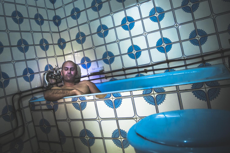 Salle de bain de la chambre d'hotel - COTONOU - Bénin