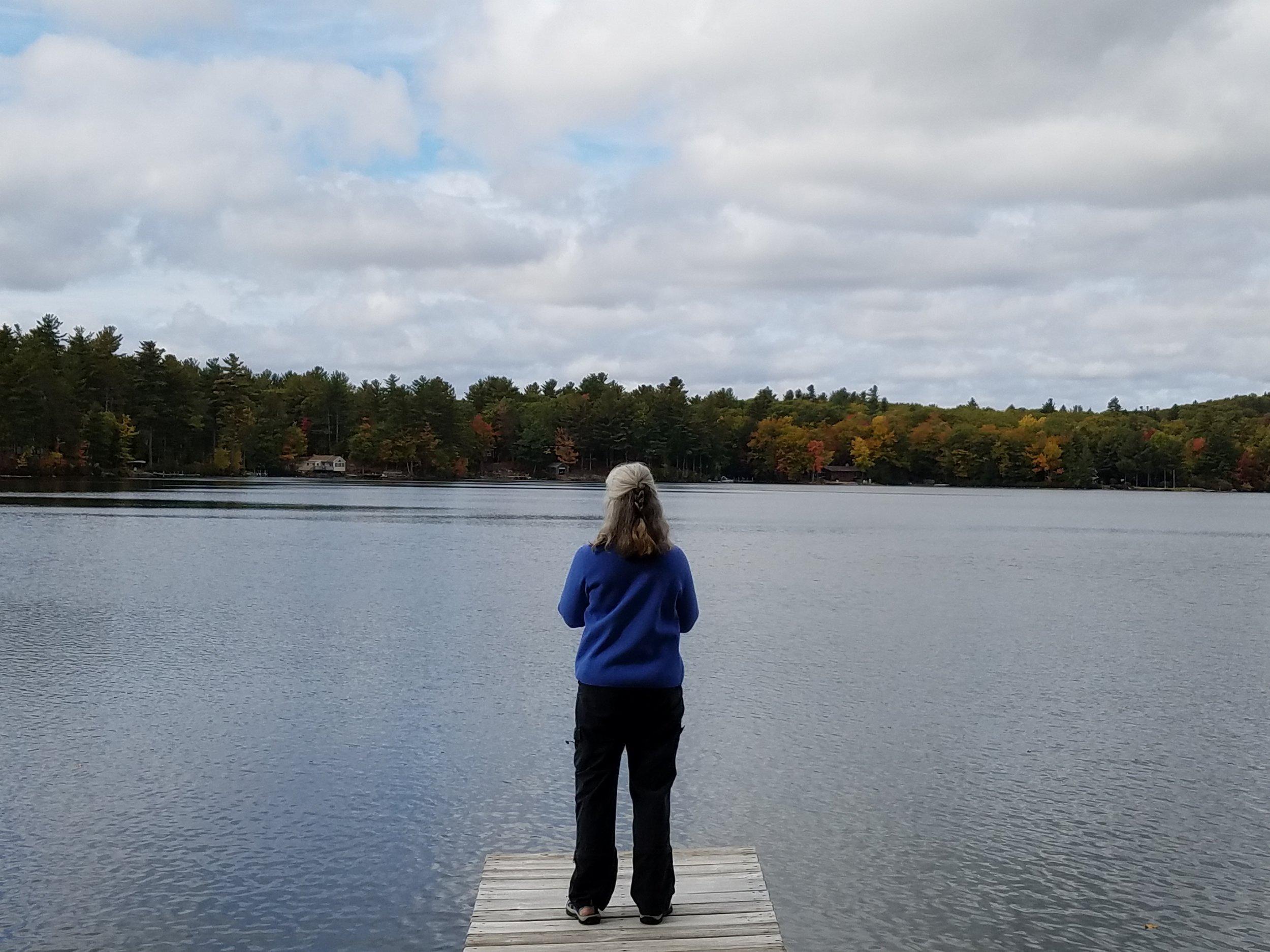Sue Sunset Lake Oct 2016.jpg