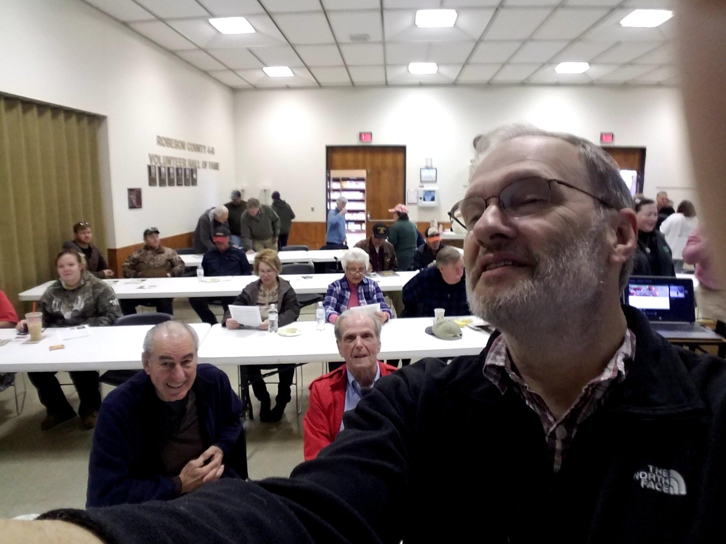 My gathering audience at Lumberton NC