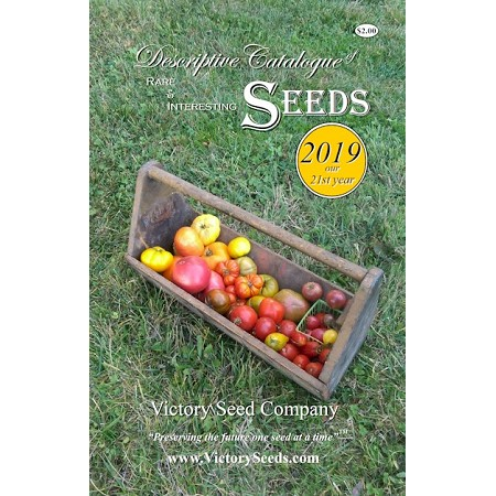 Cover of Victory Seed Company catalog