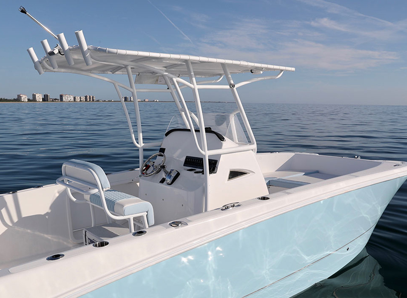 Hull Color Options - Twin Vee offers four different color hull choices, go light, go white or simply go on your Twin Vee and experience a whole new way of boating.