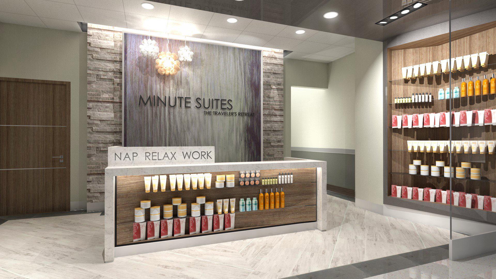 Minute Suites - Reception