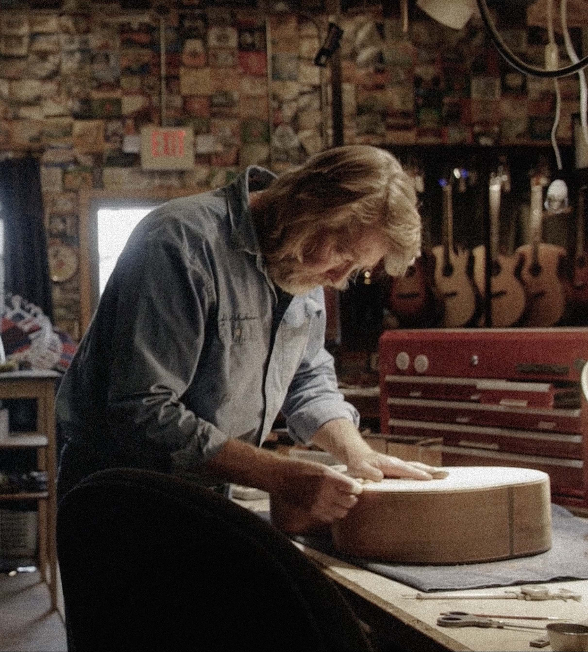 Tangled String Studios: A Guitar Maker's Story -