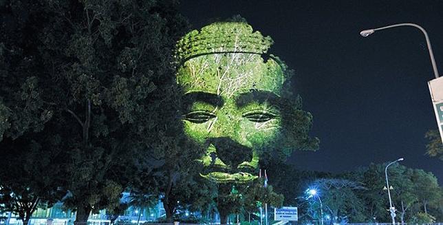 Cambodian tree gods