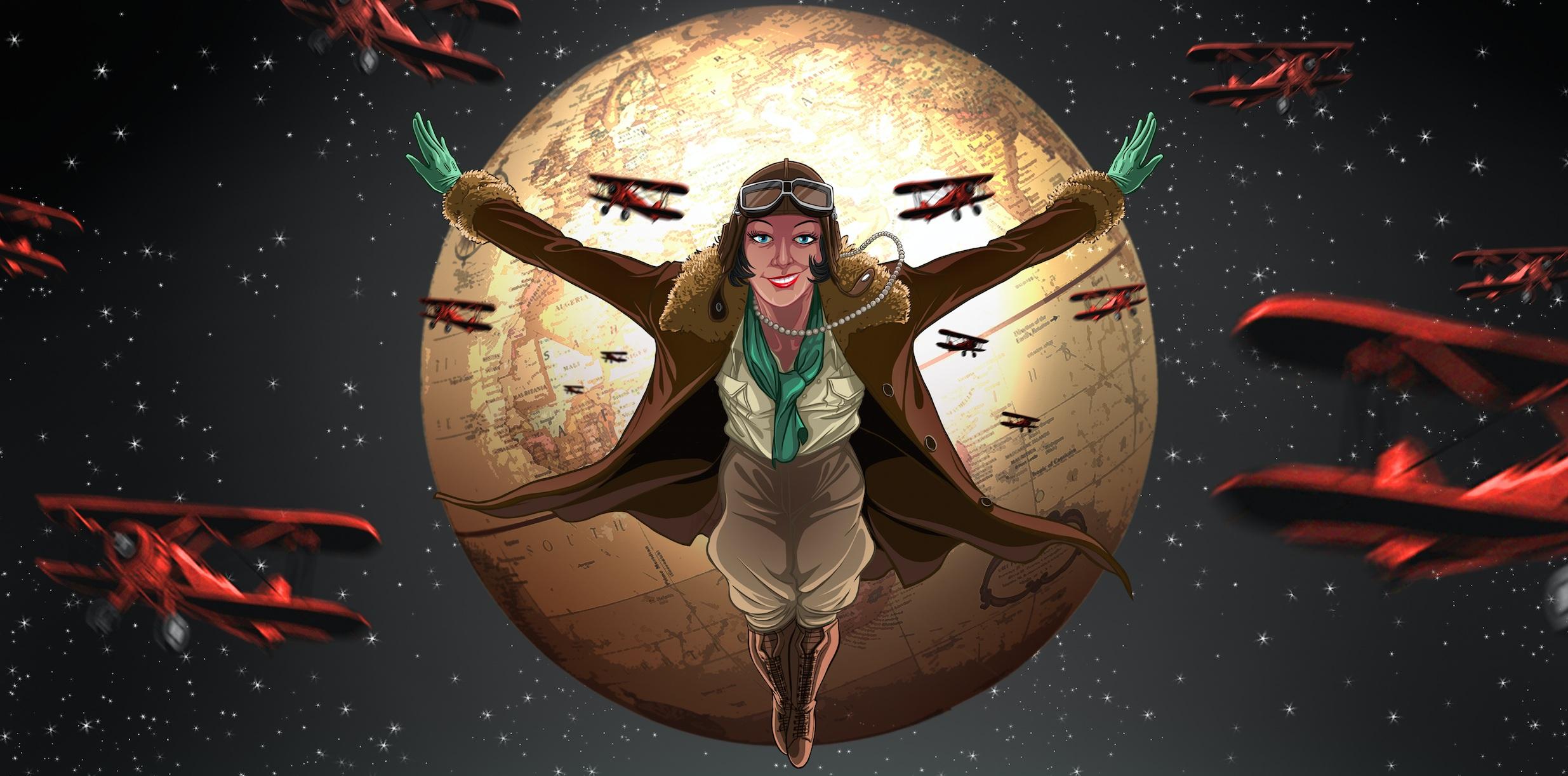 Lady Mary Heath by Séan Branigan of Storyboard Workshop