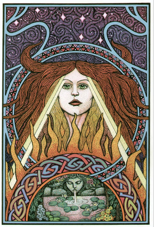 Brigid's Fire by Courtney Davis