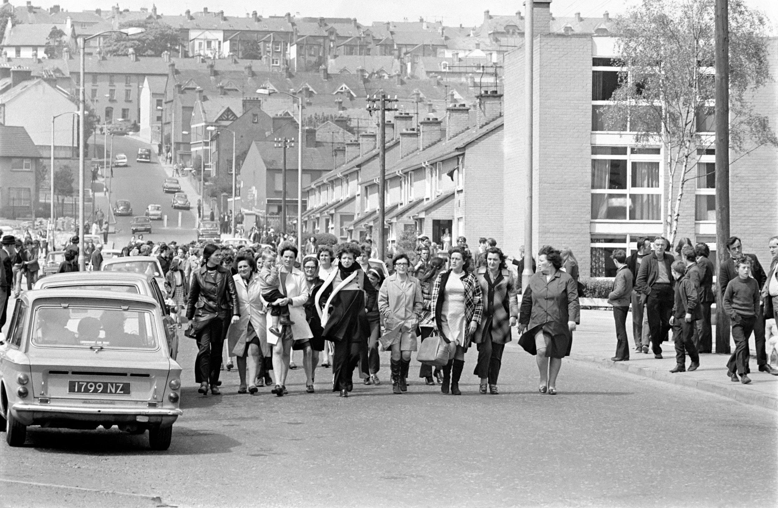 Derry Peace Women, 1972