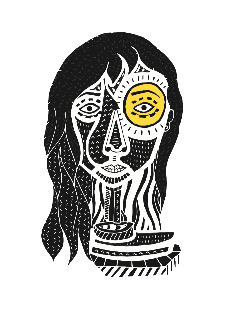 Image: Brigid by Louise Rowland for the Herstory Education Programme