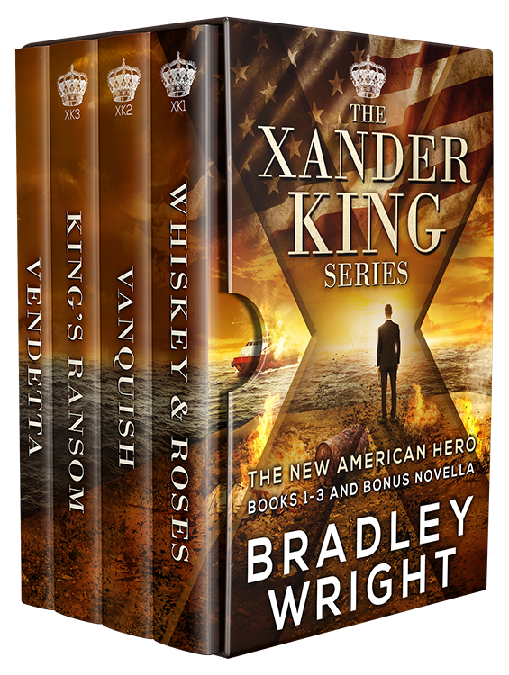 SAVE A DOLLAR IF YOU BUY THE BOX SET TODAY AND GET THE 2ND AND 3RD THRILLER IN THE XANDER KING SERIES.