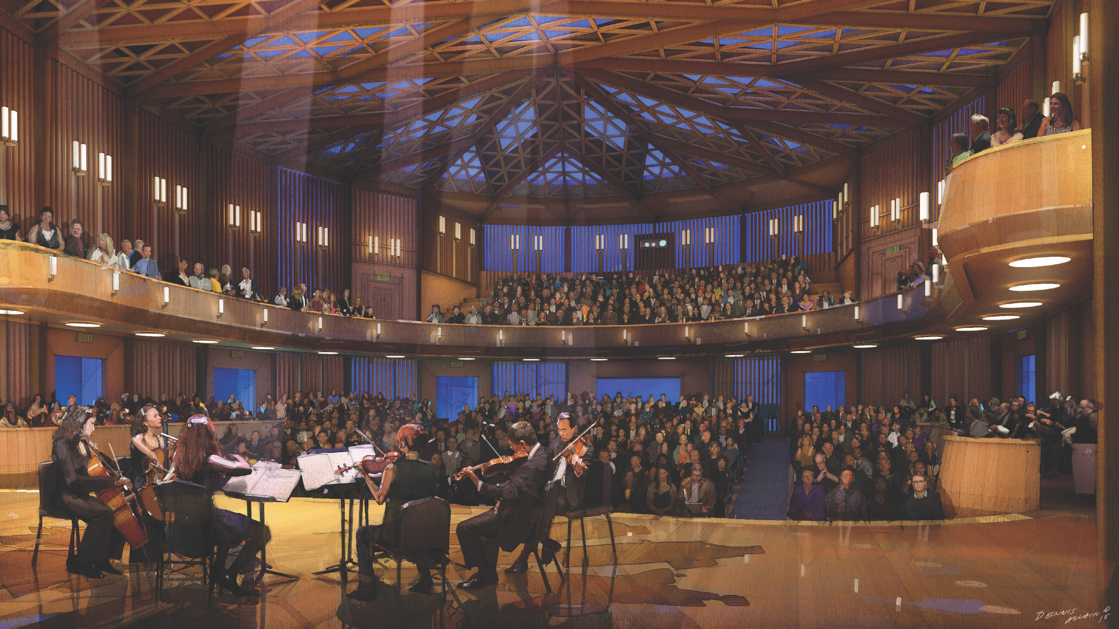 The Conrad Prebys Performing Arts Center just opened April 2019