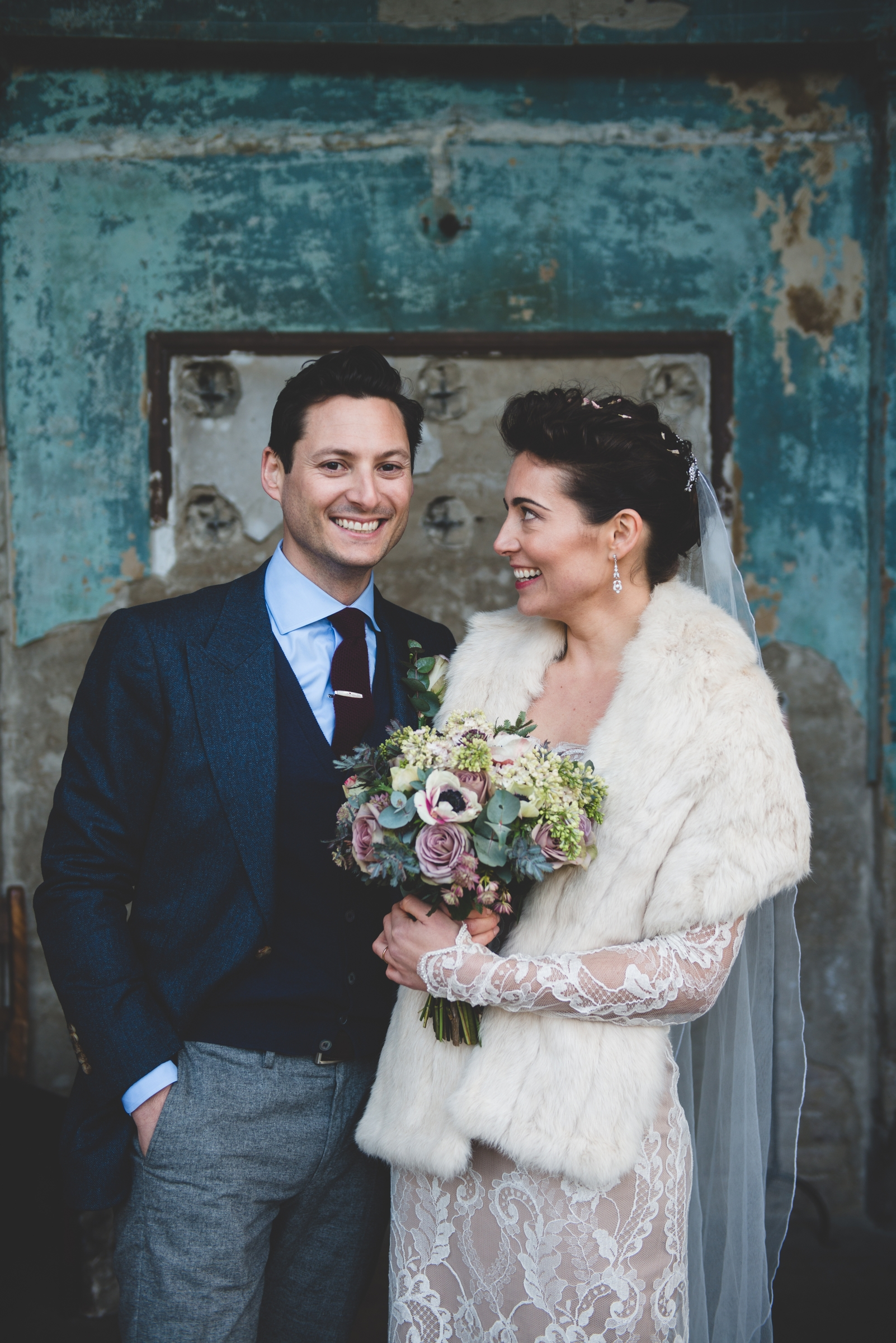 Daisy & Danny, Winter wedding    - Dave Watts Photography