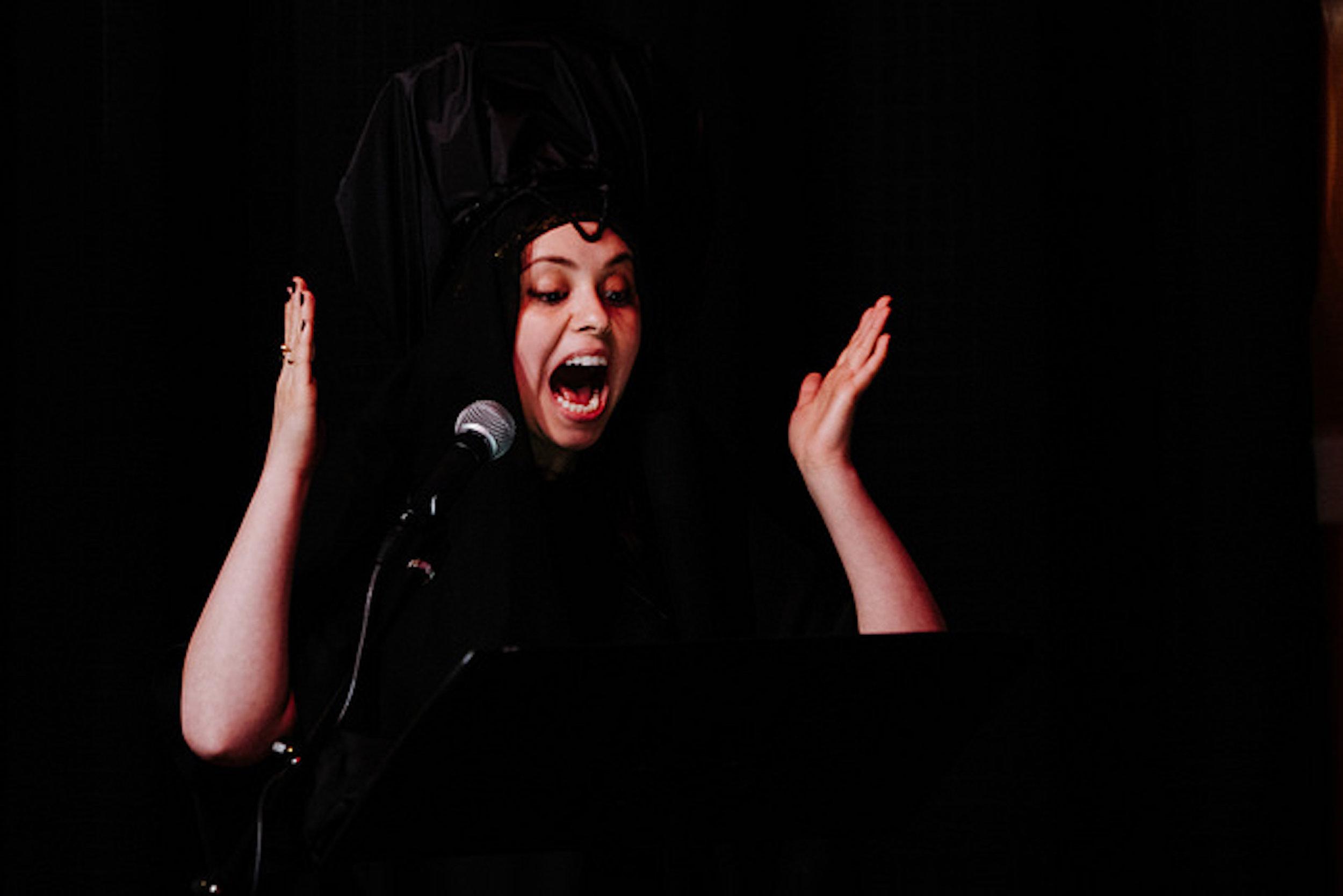 Alamargo - (2018) solo soprano - for Nina Dante