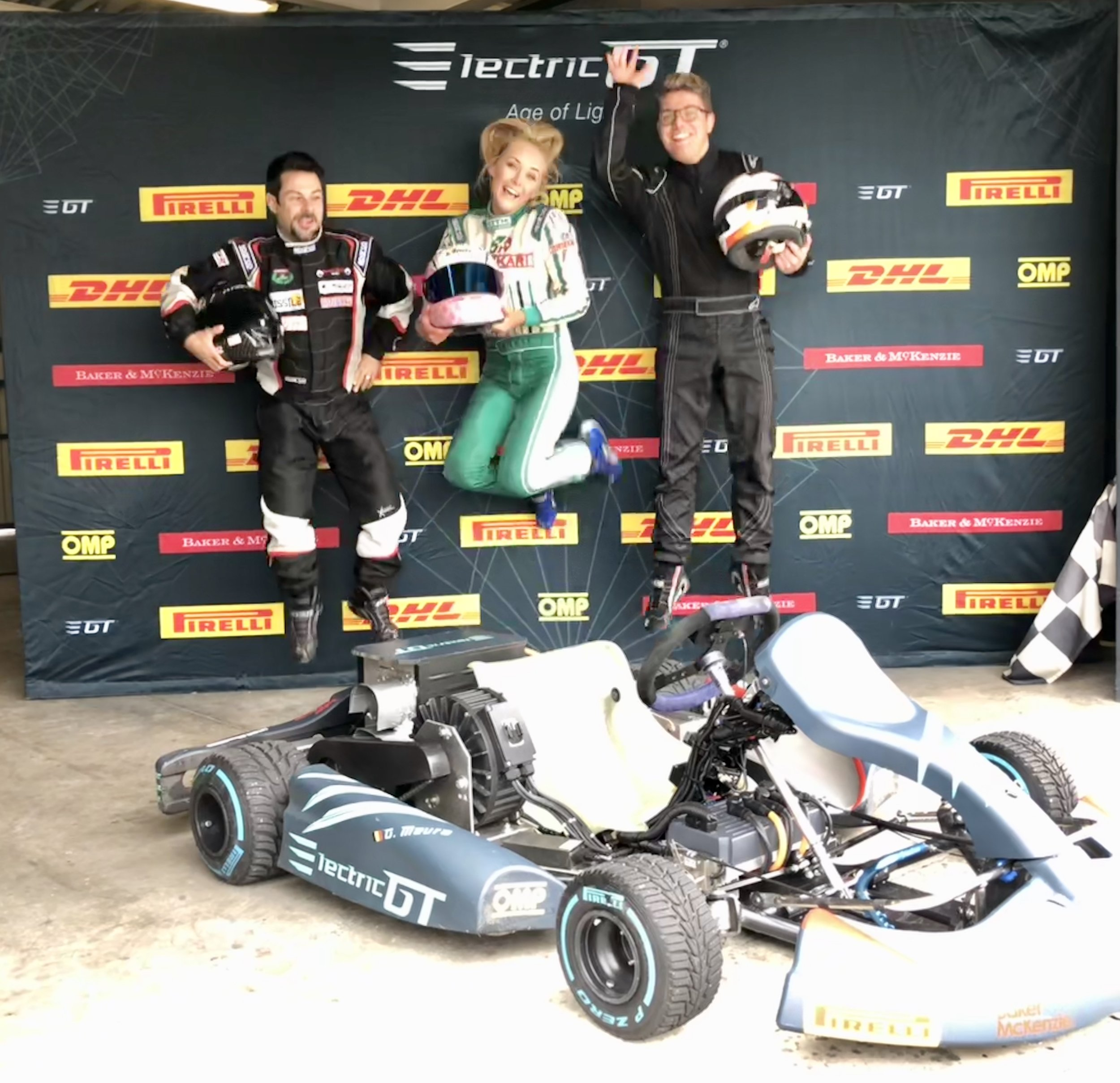 THE DRIVERS OF ELECTRIC GT HOLDINGS COMPLETE    SECOND EKARTING TEST AT CIK FIA CIRCUIT MOTORLAND   The test was completed by Aoife Melia (Ireland) and Tom Turschwel (France) from the eKarting Drivers' Club  Read More