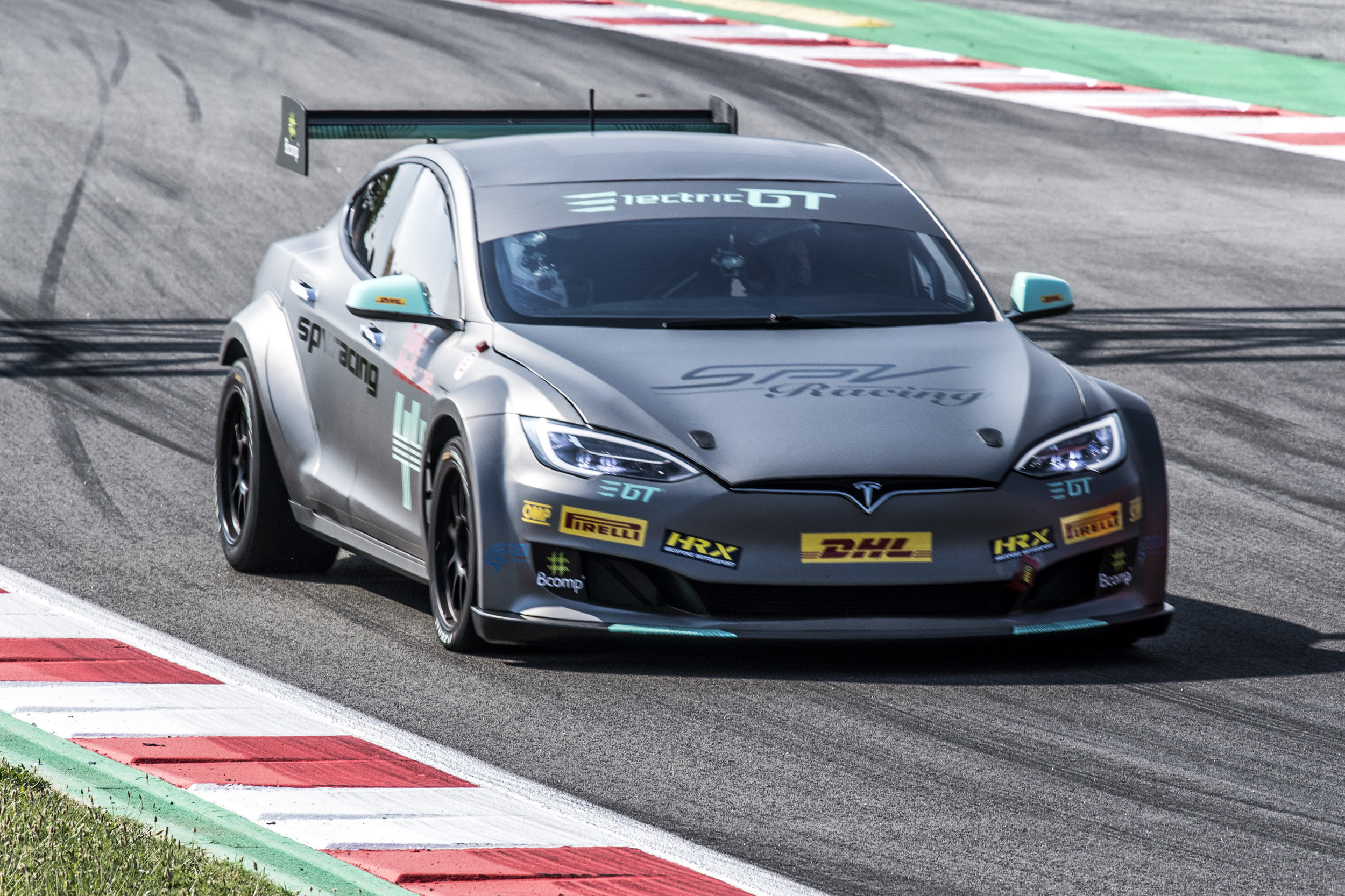 ELECTRIC GT'S TESLA P100D MAKES GLOBAL DEBUT IN BARCELONA   Electric GT Holdings Inc. and SPV Racing unveiled the race-ready version of the EPCS V2.3 Tesla P100DL in Barcelona.  Read More