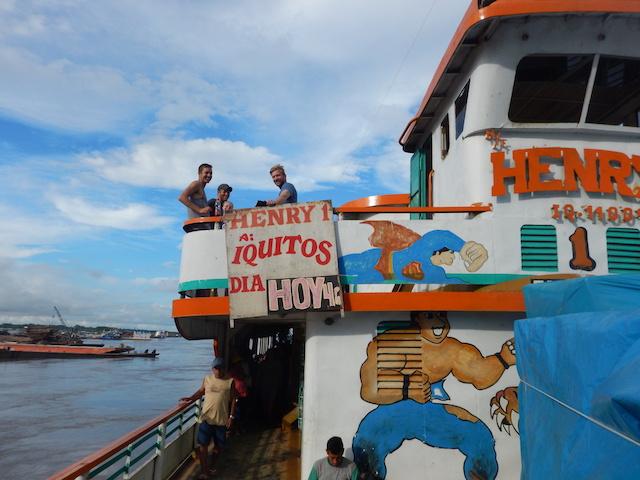 Local Amazon River Transport