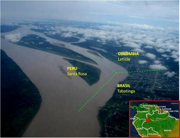 Peru-Colombia-Brazil Frontier