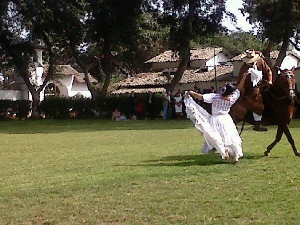 Marinera with Paso Horse