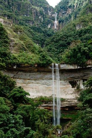 Yumbilla Waterfall, Cuispes