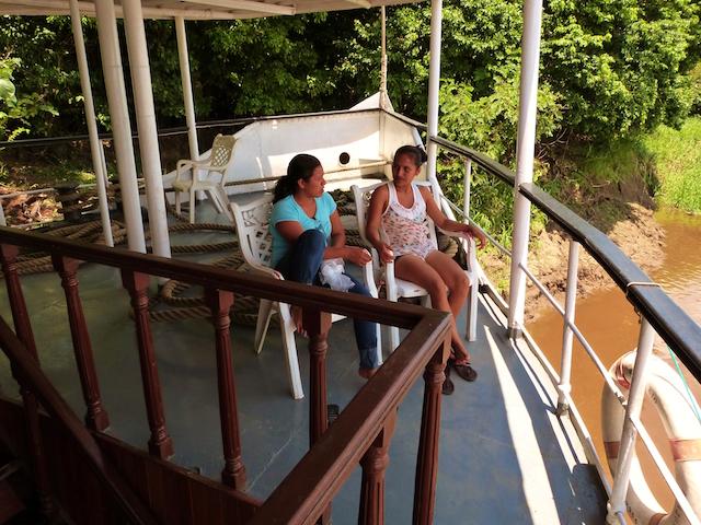 Rio Amazonas: Upper Deck Prow