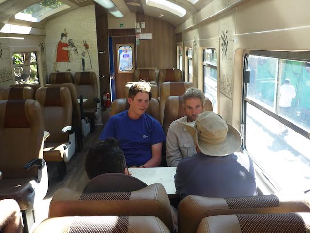 Salkantay Trek - Train from Hidroelectrica to Aguas Calientes