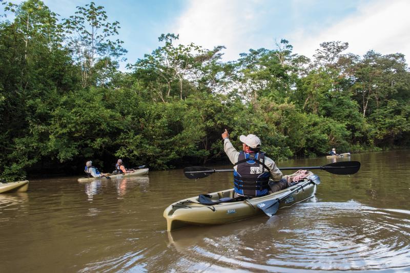 Estrella Amazonica - Kayaking