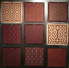 Shipibo-Konibo Textile - Various Designs