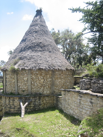 Kuelap, Chachapoyas - Thatched Roofs