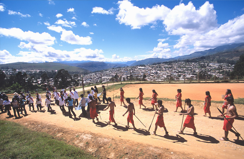 The Andean Highlands and the Amazon are both represented at Raymi Llacta.