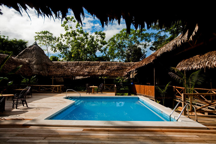 Swimming Pools in Iquitos - Heliconia Ecolodge
