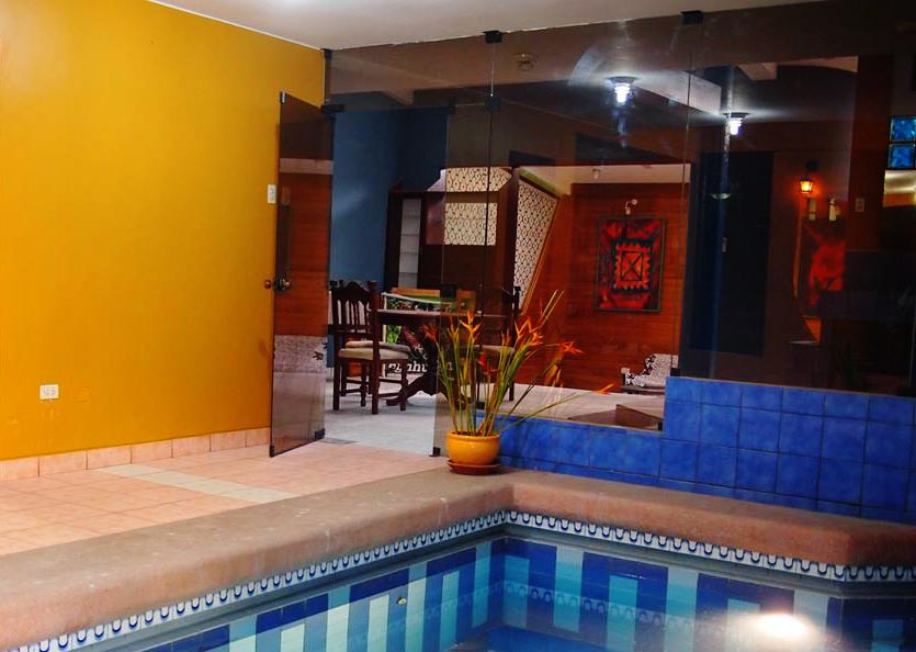 Swimming Pools in Iquitos - Casa Bendayan