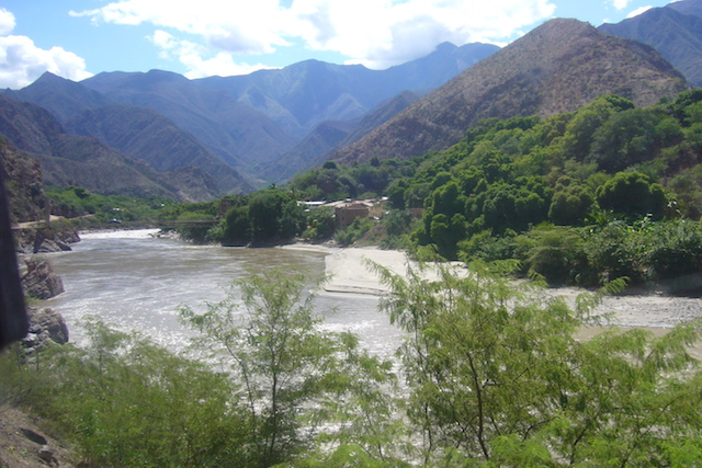 The small, tropical town of Balsas on the Marañon River.