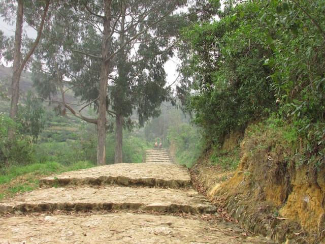 Revash Mausoleums - Paved Path