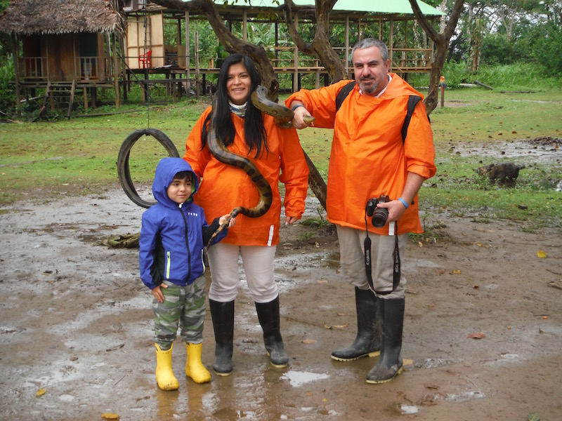 Walter x 3 - Sinchicuy Amazon Lodge - Anaconda.jpg