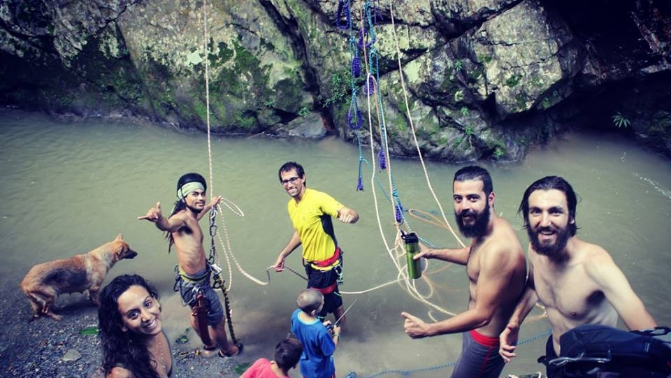 Tarapoto Adventure Excursions - Shilcayo River Abseiling - Pool.jpg