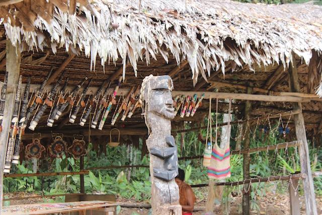 Yagua Indigenous Amazon Tribe - Handicrafts