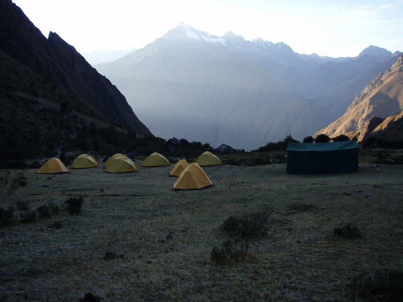 Classic Inca Trail - Campsite