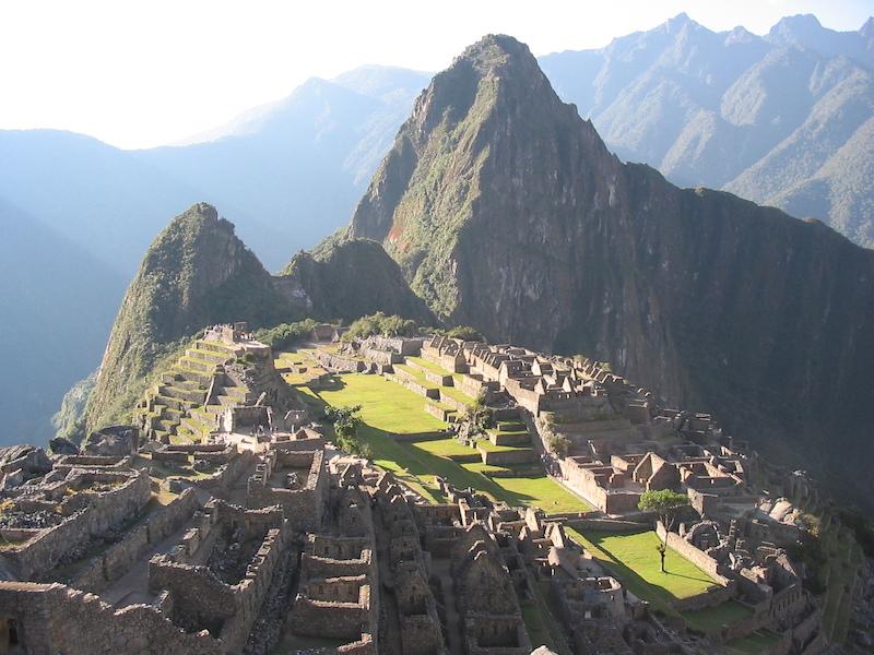 Inca Trail - Machu Picchu Panorama.JPG