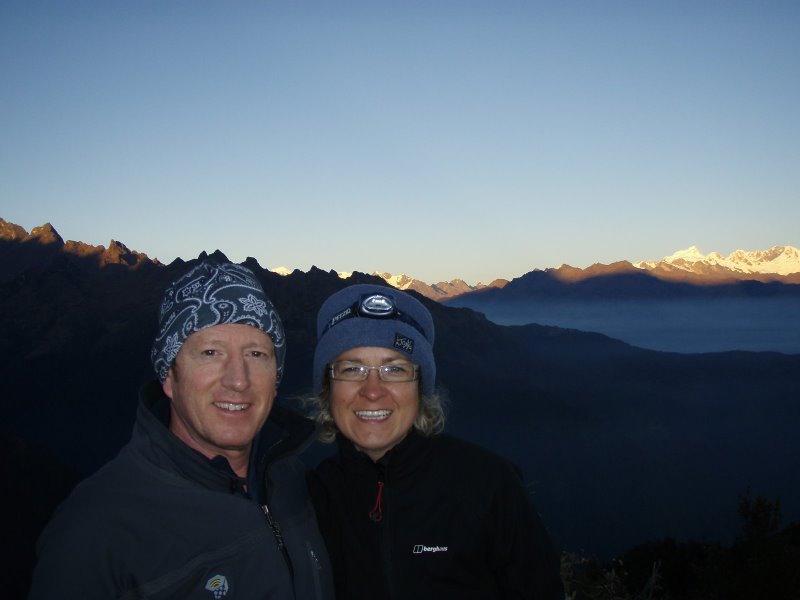 Inca Trail Extension - Hikers at Phuyupatamarca.JPG