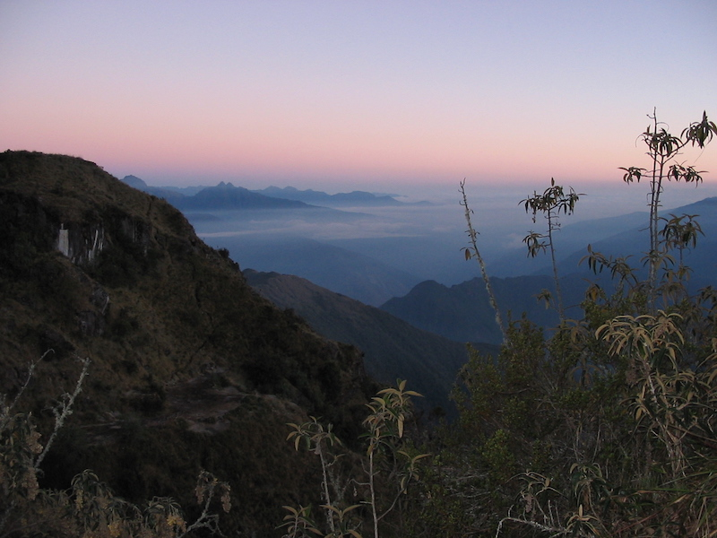 Inca Trail Extension - Phuyupatamarca Sunrise.JPG