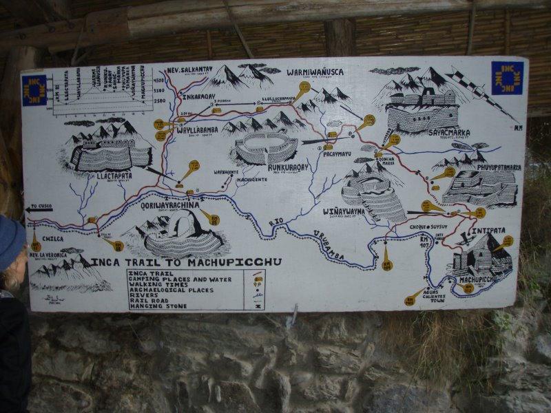 Inca Trail Extension - Trail to Machu Picchu.JPG