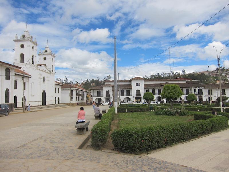 Chachapoyas, Amazonas - Plaza de Armas & Cathedral.jpg