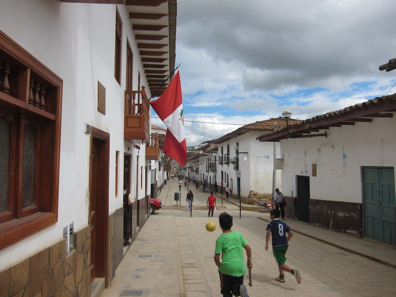 Chachapoyas, Amazonas - Street Football.jpg
