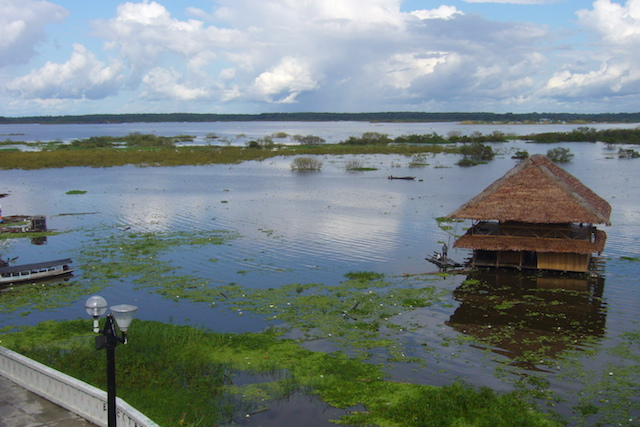 Iquitos, Loreto - Amazon River View from Malecon.JPG