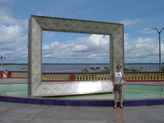 Iquitos, Loreto - Malecon Picture Frame.JPG